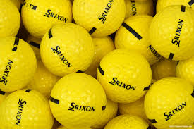 We Use Srixon Range Balls