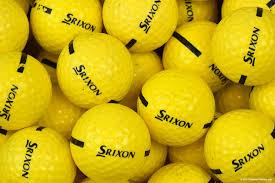 We Use Srixon Range Balls